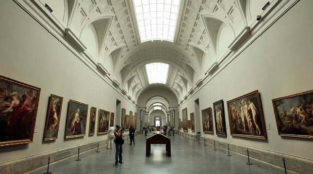 Una de las salas del Museo del Prado