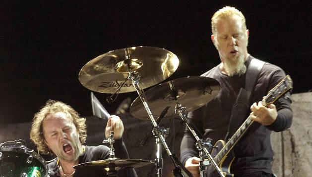 El grupo estadounidense Metallica.