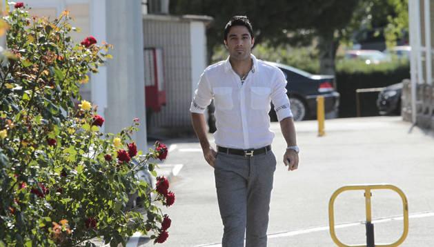 Javad Nekounam, en una imagen tomada hace dos temporadas en las instalaciones de Tajonar