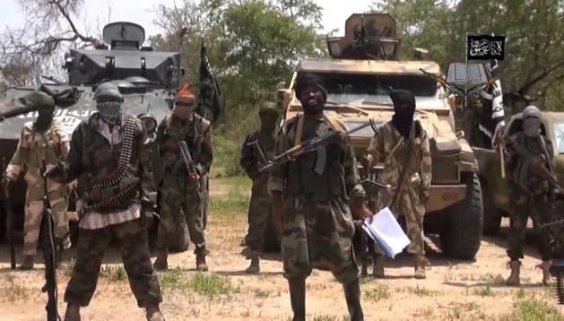 Milicianos yihadistas de Boko Haram