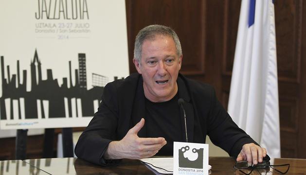 El director del Heineken Jazzaldia, Miguel Martín.