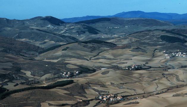 Imagen de archivo del valle de Juslapeña.