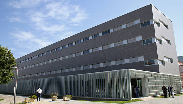 El pabellón C del Hospital de Navarra.