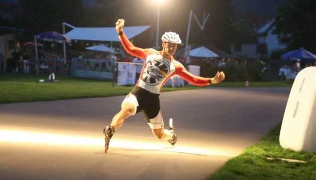 Ioseba Fernández, en los 500 metros sprint