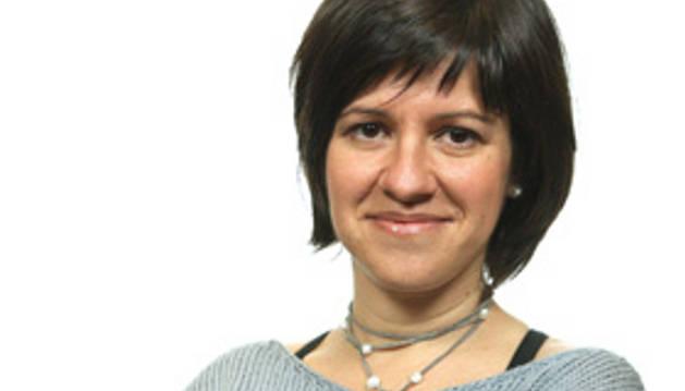 La corresponsal en Gaza Yolanda Álvarez
