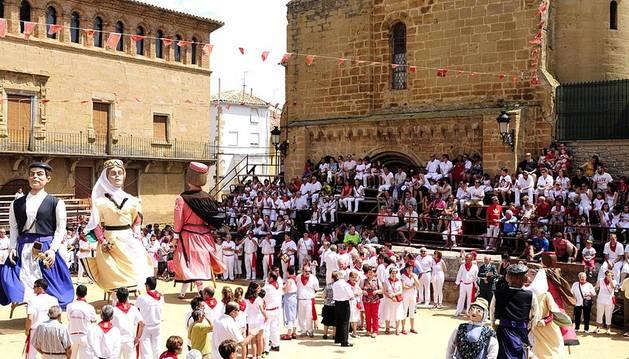 Fiestas en Arguedas y Carcastillo