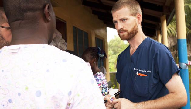 Kent Brantly, el médico infectado de ébola, en una imagen del 30 de julio