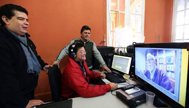 Los autores del documental paraguayo