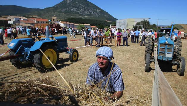 Día de la Trilla 2013, en Salinas de Ibargoioti.
