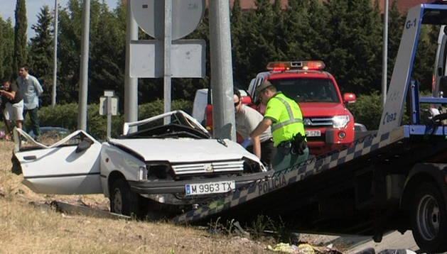 Uno de los accidentes mortales tuvo lugar en Fuenlabrada
