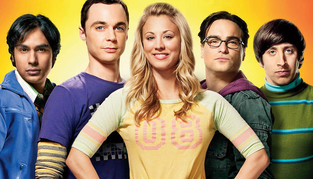 El reparto de 'The Big Bang Theory'.