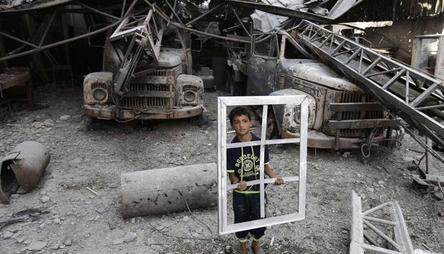 Unas 10.600 viviendas han sufrido las consecuencias de los bombardeos en Gaza