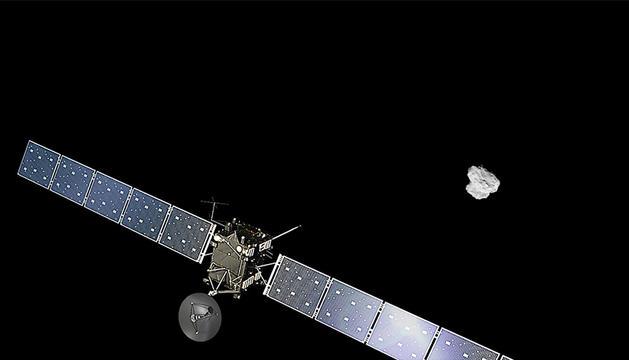 Imagen facilitada por la Agencia Espacial Europea.