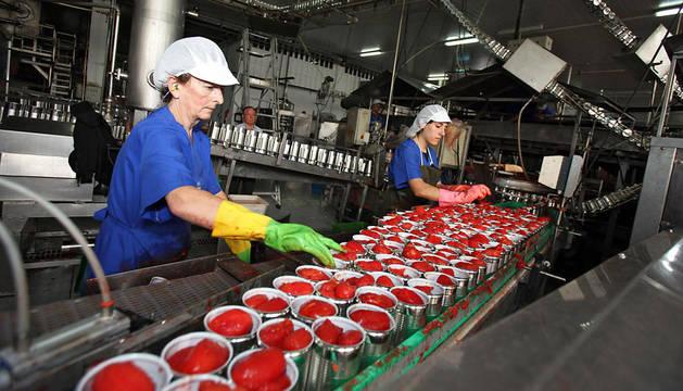 El tomate en conserva, uno de los productos que se venden a Rusia