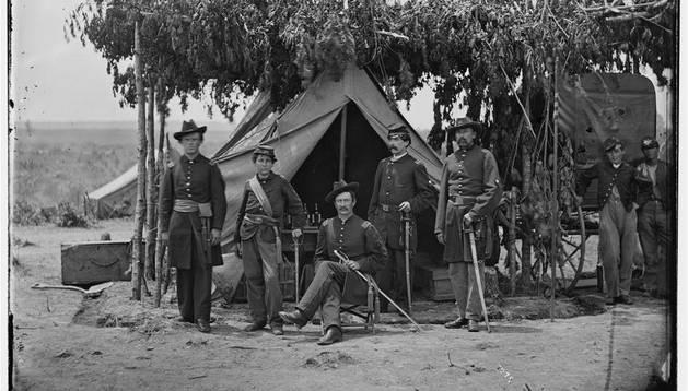 Imagen de la guerra civil americana.