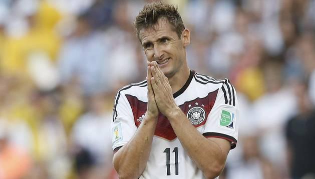 Miroslav Klose, en el pasado Mundial