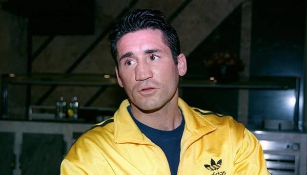 Fotografía de archivo del exboxeador Poli Díaz
