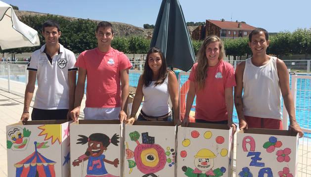 Como preámbulo al festival se están realizando talleres infantiles en las piscinas municipales