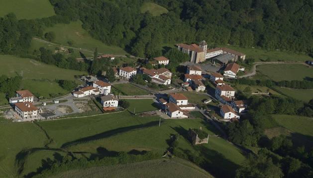 Vista aérea de Urdax