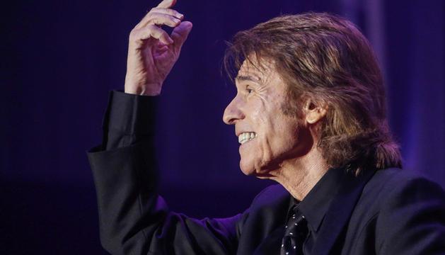 El cantante Raphael durante el concierto que ofreció en el Festival Sonorama