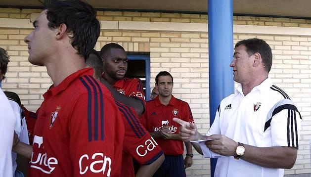 Los rojillos y el recién ascendido a Primera disputaron un encuentro amistoso de pretemporada en Tafalla el sábado 16 de agosto de 2014 que finalizó con triunfo armero por 0-2.