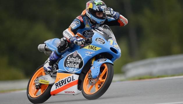 Álex Márquez, en el GP de la República Checa