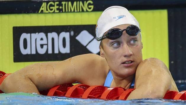 La nadadora española, Mireia Belmonte