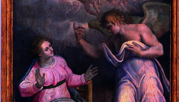 'La Anunciación', de Gaspar Becerra