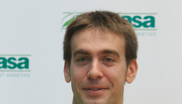 El jugador navarro, Iñaki Narros