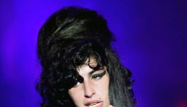 Amy Winehouse, en un concierto en 2009