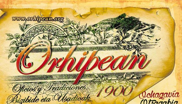 Cartel de la edición de este año de Orhipean