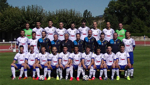 La plantilla del Burladés para la temporada 2014/2015