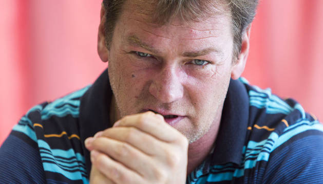 El entrenador de Osasuna, Jan Urban