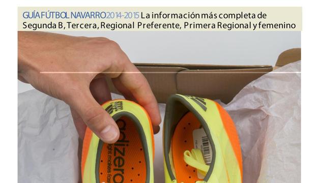 Portada del suplemento del lunes en Diario de Navarra