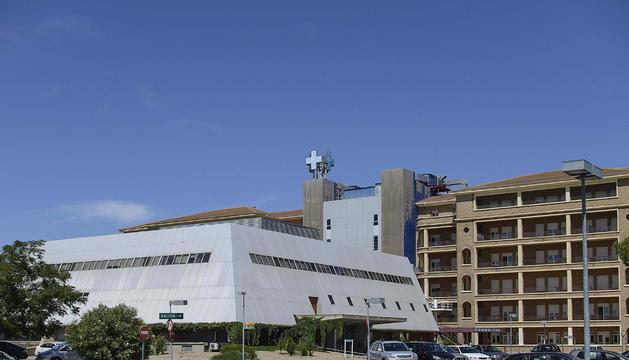 Vista general del Hospital Royo Villanova de Zaragoza