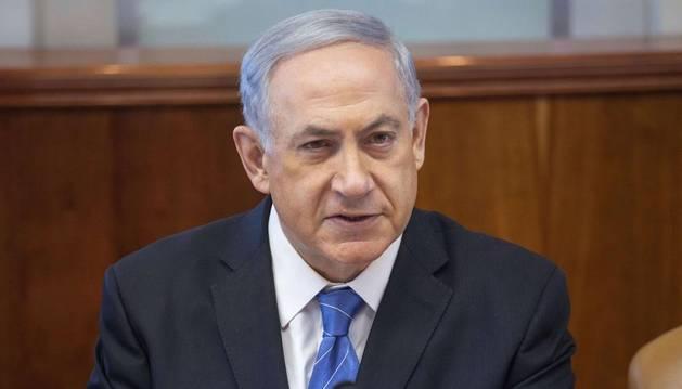 El primer ministro de Israel Benjamin Netanyahu