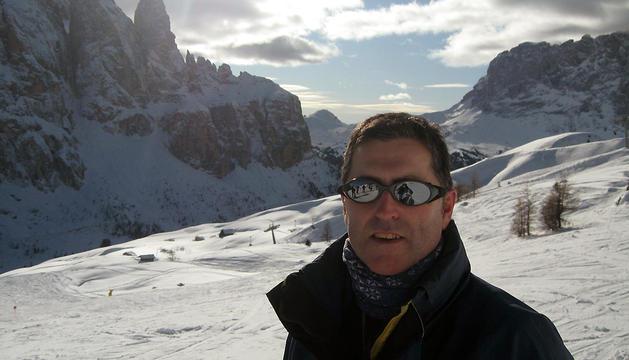 El  montañero navarro Alberto Iribarren Gurbindo, de 43 años y vecino de Sorauden
