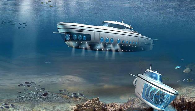 El submarino podría pasar a tener un uso civil en el futuro.