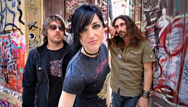 El grupo musical 'Efecto mariposa'.