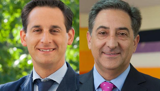 Santiago Fernández-Gubieda (izda) y Jesús Zorrilla Ruiz (dcha)