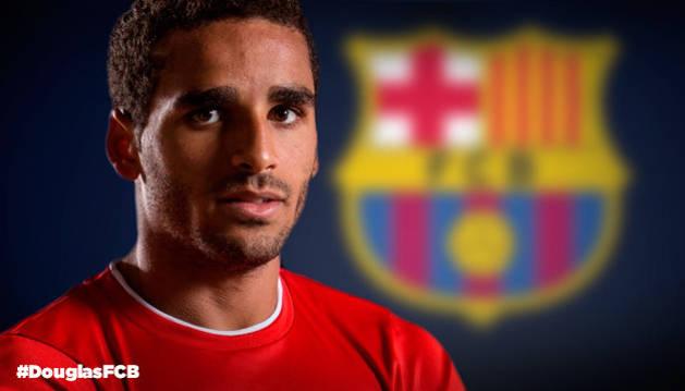 Douglas, nuevo jugador del Barcelona