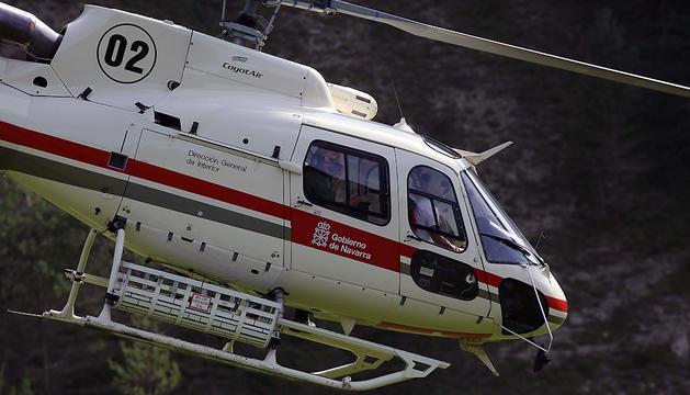 Helicóptero del Gobierno de Navarra