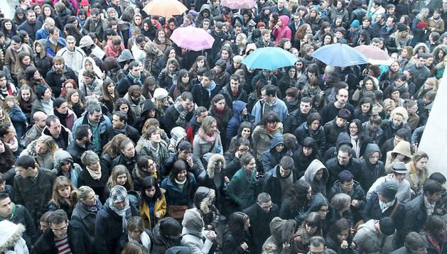 Imagen de la última oposición de enfermería en noviembre de 2012