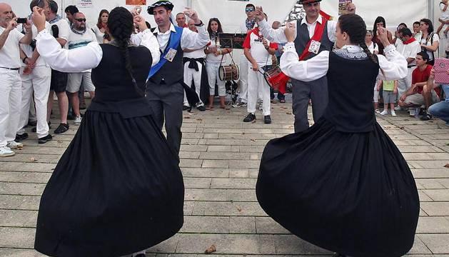 Actos celebrados en las localidades navarras de Berriozar, Noáin y Obanos con motivo de las fiestas patronales de 2014.