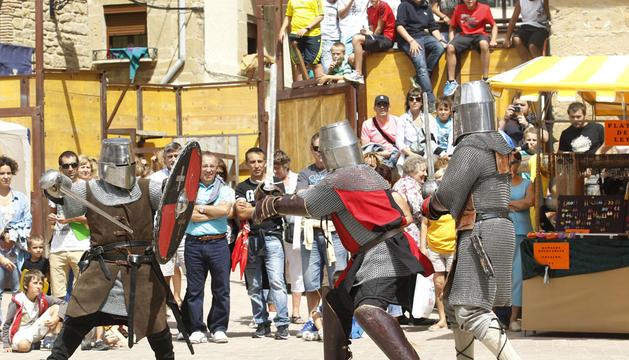 Fiesta medieval de Artajona en 2013
