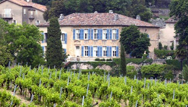 La residencia francesa de Brad Pitt y Angelina Jolie.