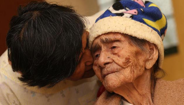 La mexicana Leandra Becerra Lumbreras cumplirá este 31 de agosto 127 años de vida.