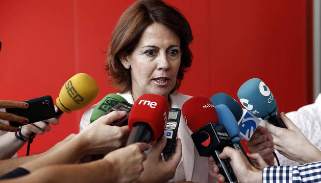Yolanda Barcina.