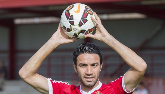 El jugador de Osasuna, Javad Nekounam