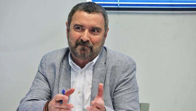 Miguel Ángel Marzábal Díaz es el jefe de la sección de juegos y espectáculos del Gobierno de Navarra
